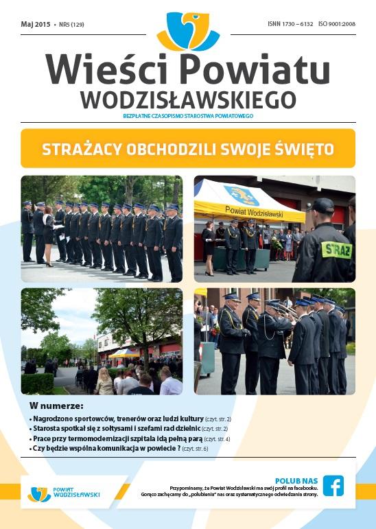 Wieści - maj 2015 okładka
