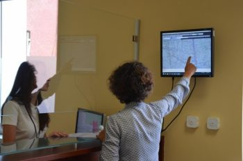 Punkt Obsługi Klienta Indywidualnego w Wydziale Geodezji