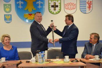 Delegacja z Powiatu Tczewskiego