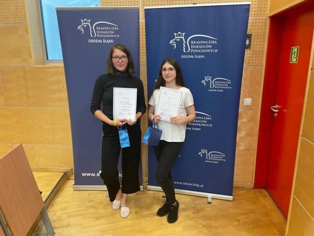 Laureatki konkursu wiedzy o podatkach