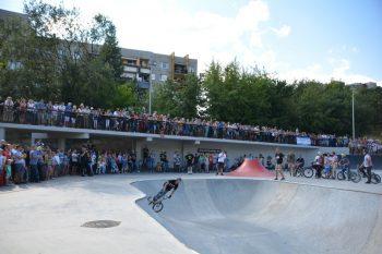 zawody w skateparku