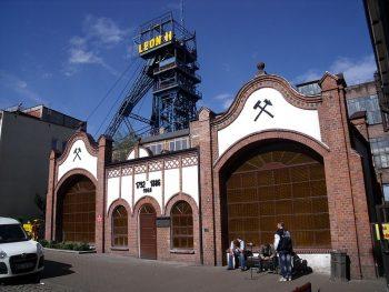 Budynek wagi KWK Rydułtowy foto. Olerys www.wikimedia.org
