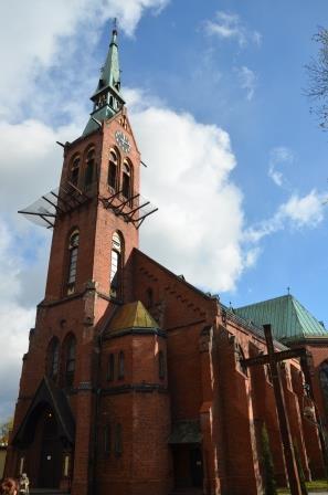 kościół św. Jerzego w Rydułtowach