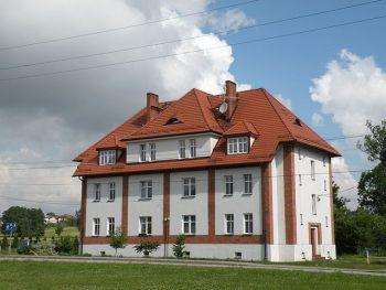 Zespół budynków osiedla robotniczego Kolonii Fryderyka foto. Magdalena Spandel
