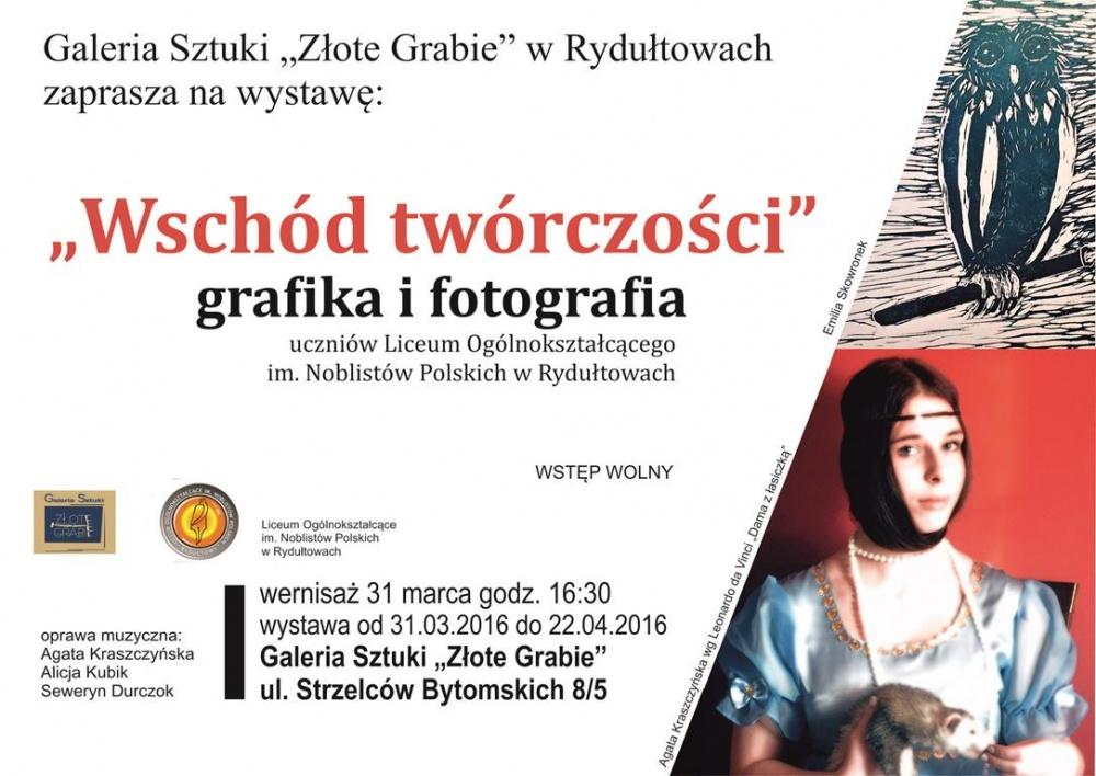 Wschód Twórczości W Złotych Grabiach Powiat Wodzisławski
