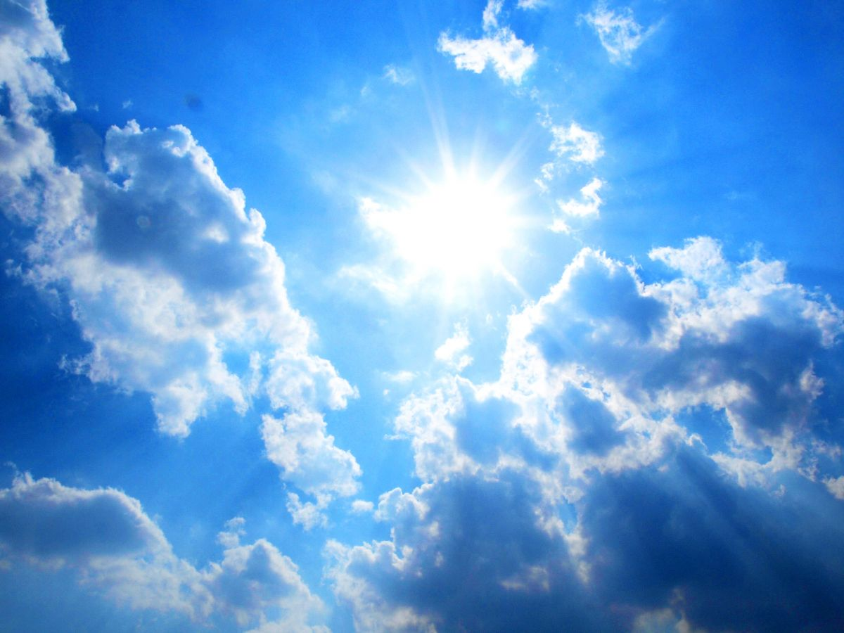 Słońce, upał, obrazek