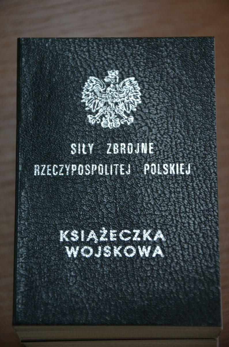 książeczka wojskowa