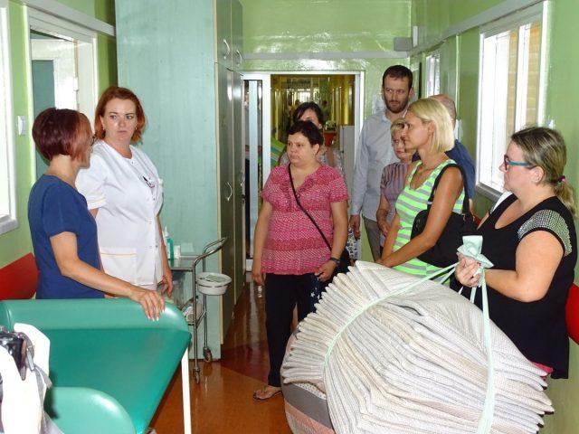 Dary Centrum Integracji Społecznej w Godowie dla Oddziału Neonatologicznego