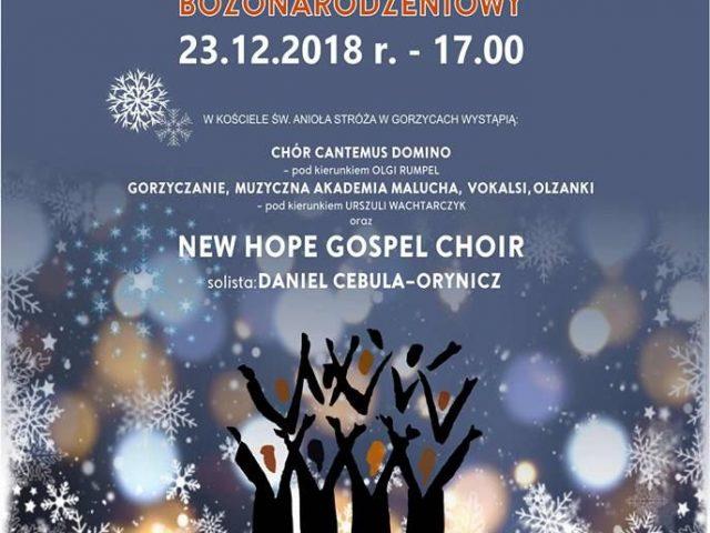 plakat koncert bożonarodzeniowy