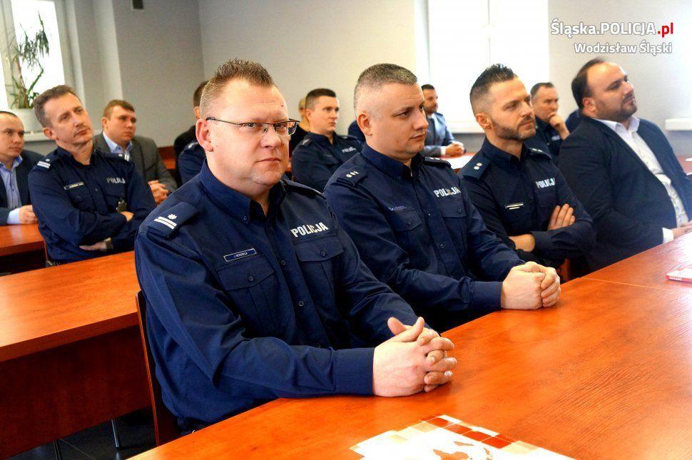 narada służbowa wodzisławskich policjantów