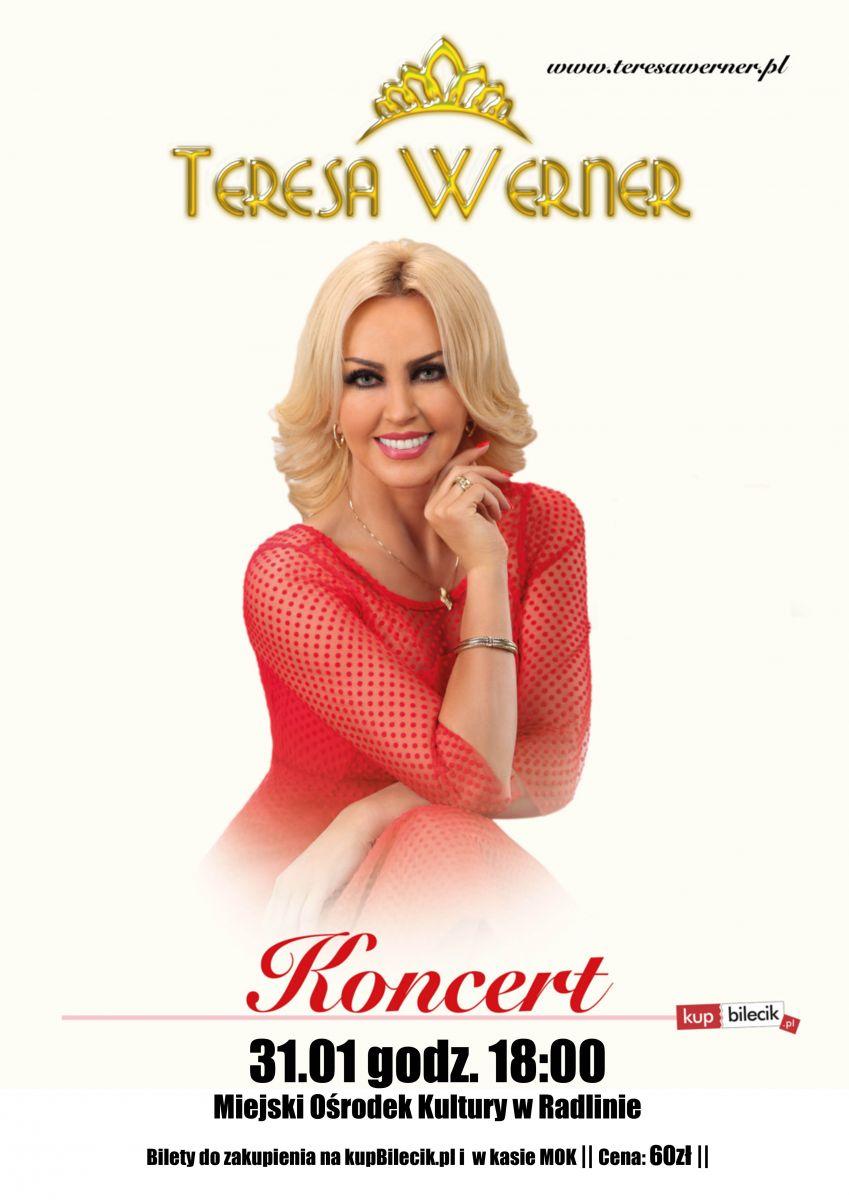 plakat koncert Teresy Werner