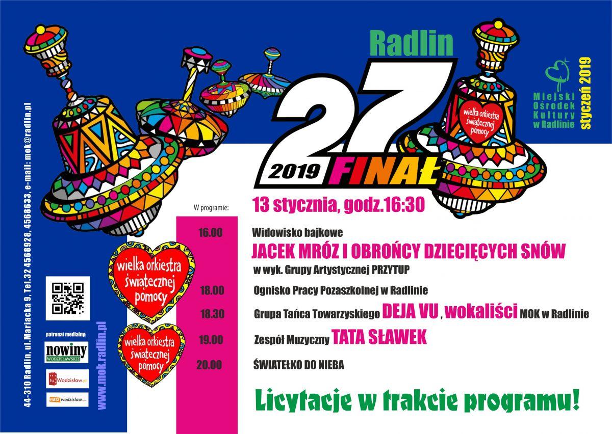 Radlin 27 Finał Wośp Powiat Wodzisławski