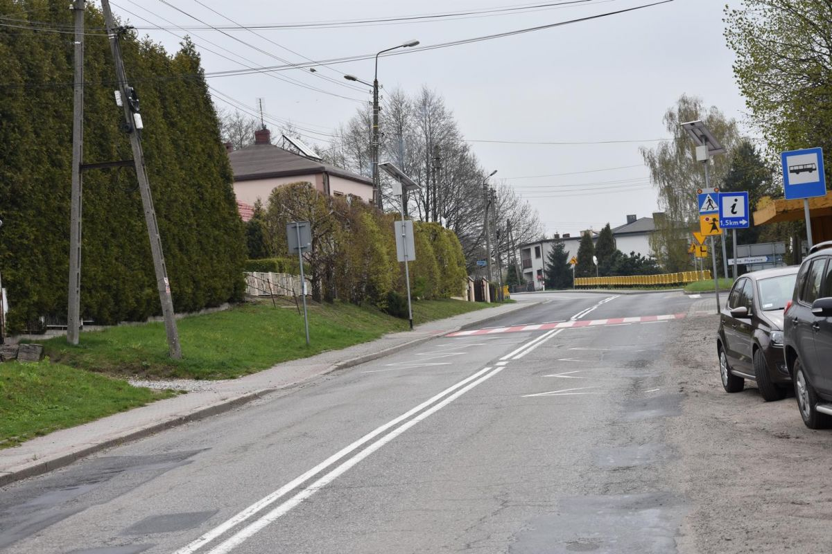 ulica Raciborska w Gorzycach