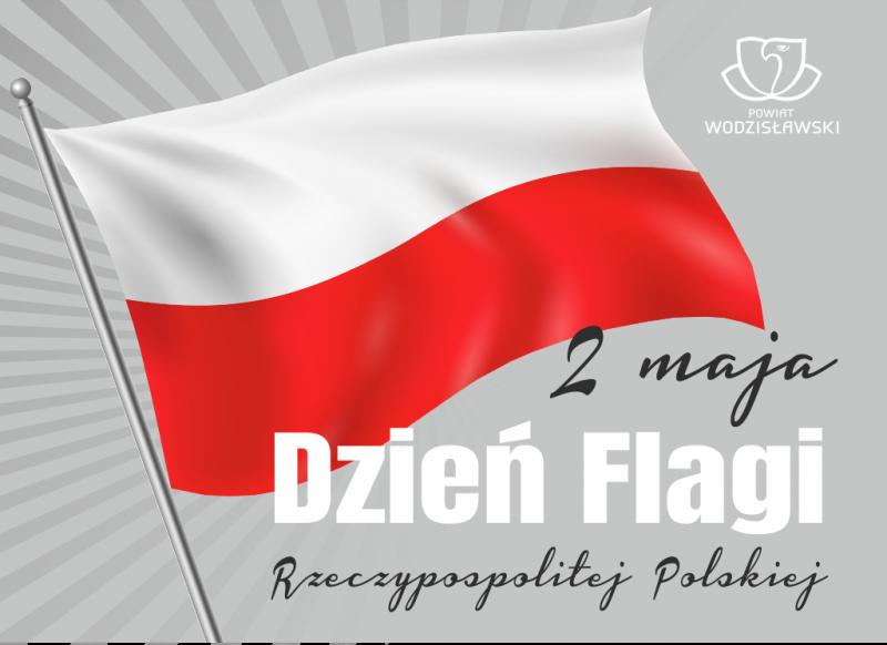 2 maja dzień flagi grafika okolicznościowa