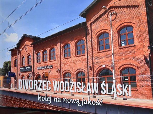 otwarcie dworca kolejowego w Wodzisławiu