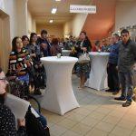 """wernisaż prac uczestników Powiatowego Ośrodka Wsparcia """"Perła"""""""