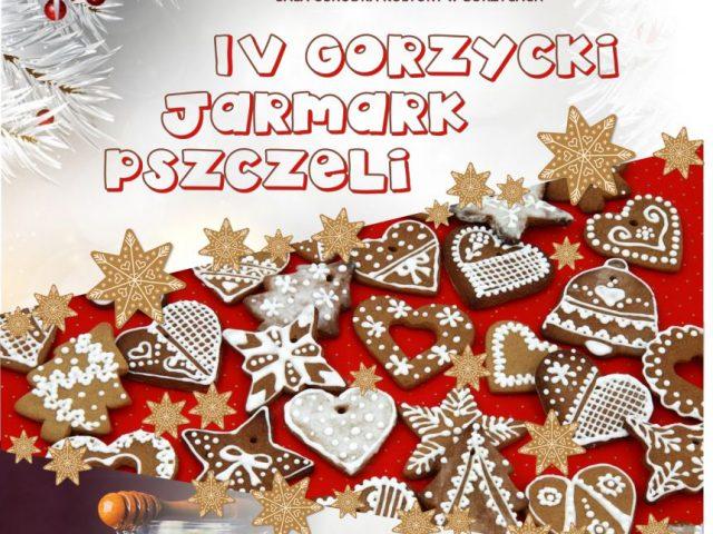 plakat IV gorzycki jarmark pszczeli