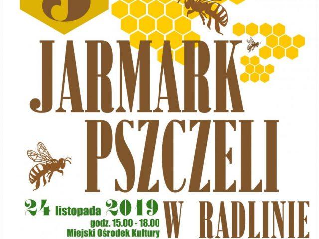 plakat jarmark pszczeli w Radlinie