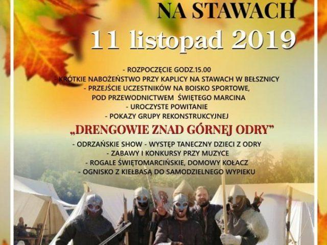 plakat święty Marcin na stawach