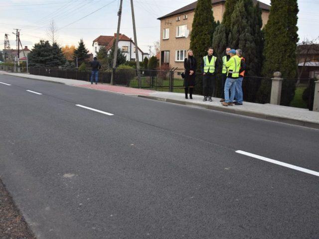 remont ul. 1 Maja w Gołkowicach
