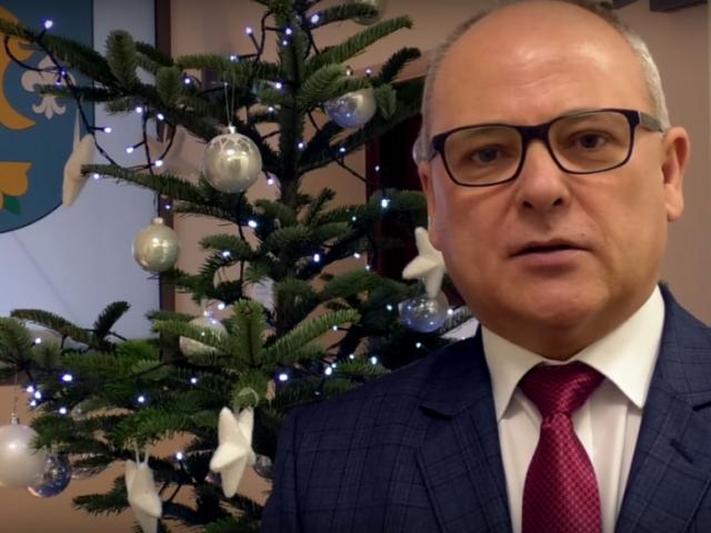 życzenia bożonarodzeniowe starosty Leszka Bizonia