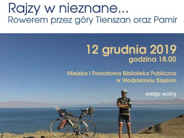 plakat Paweł Pieczka spotkanie z podróżnikiem