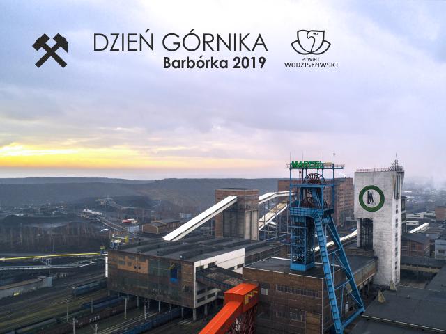 baner dzień górnika barbórka 2019