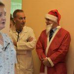mikołajki na oddziale pediatrycznym w Rydułtowach