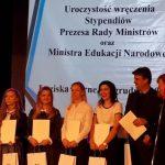 wręczenie stypendiów Prezesa Rady Ministrów