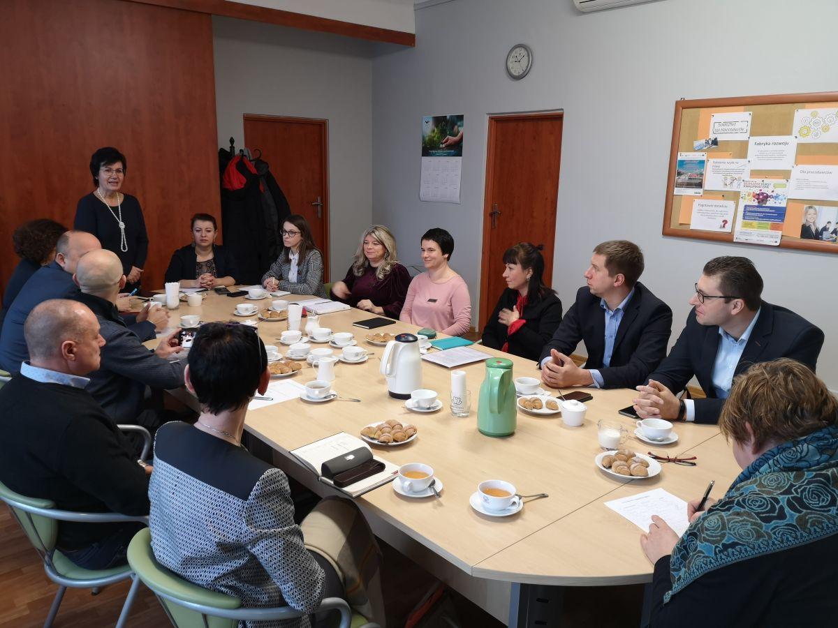 spotkanie na temat integracji obcokrajowców