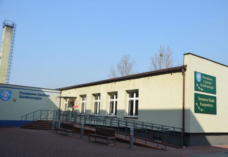 Budynek Powiatowego Centrum Konferencyjnego przy ul. Pszowskiej 92a w Wodzisławiu Śląskim