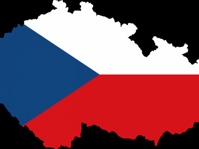 Flaga Republiki Czeskiej grafika