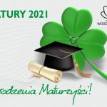matura 2021 grafika okolicznościowa z życzeniami powodzenia