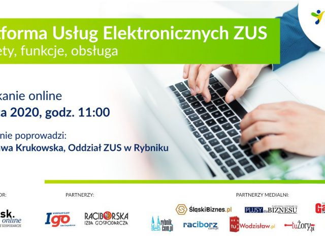 webinarium platforma usług elektroniczncyh 2 lioca plakat