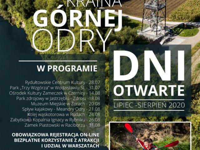 Plakat Dni Otwarte Krainy Górnej Odry