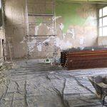remont sali gimnastycznej w Tischnerze 3
