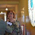 szpitalna izba pamięci w Rydułtowach Kornelia Newy udzielająca wywiadu dla Telewziji TVT