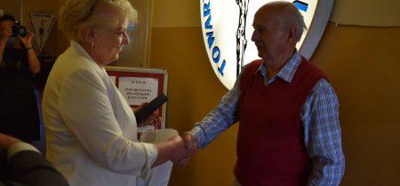 szpitalna izba pamięci w Rydułtowach podziękowania od Krystyny Kuczery dla TMR