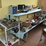 szpitalna izba pamięci w Rydułtowach sprzęt