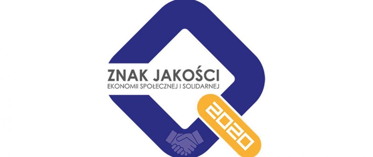 znak jakości ekonomii społecznej 2020 logo