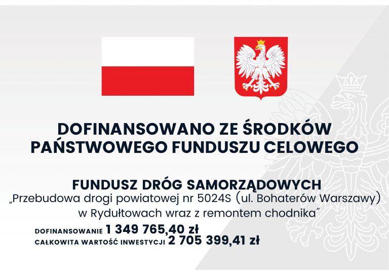 Bohaterow Warszawy tablica informacyjna infografika