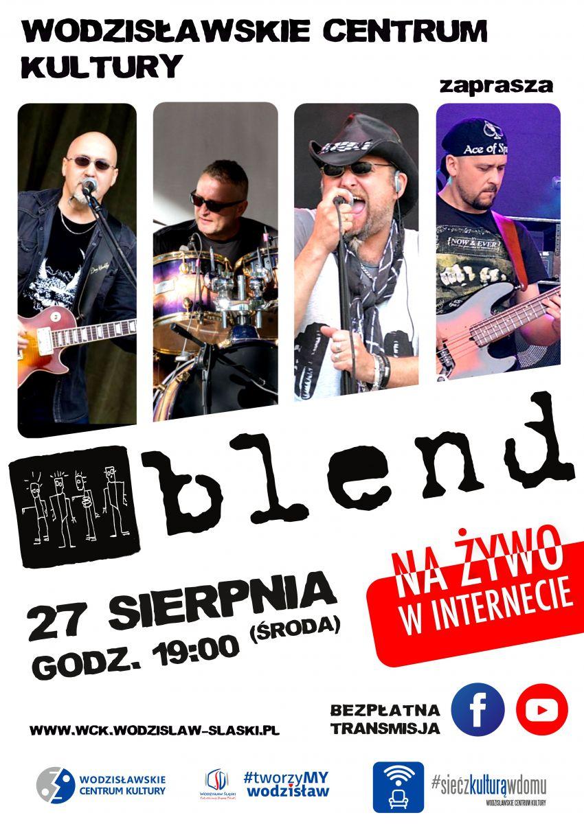 koncert zespołu Blend 27 sierpnia 2020 r. WCK