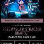 Plakat - zaduszki jazzowe w WCK 30.10.2020 r.