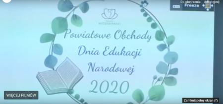 Dzień Edukacji Narodowej 2020 w TVT czołówka