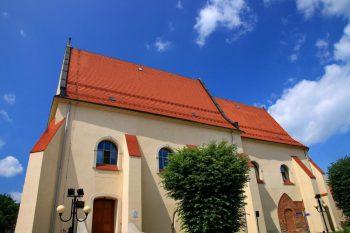 Pominorycki kościół ewangelicko-augsburski św. Trójcy w Wodzisławiu Śląskim foto. Hons084