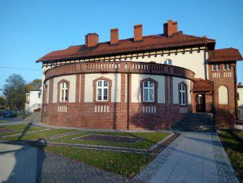 Sanepid w Wodzisławiu Śląskim, dawna szkoła i sierociniec fundacji rodziny Aufrecht foto. F. Kamczyk