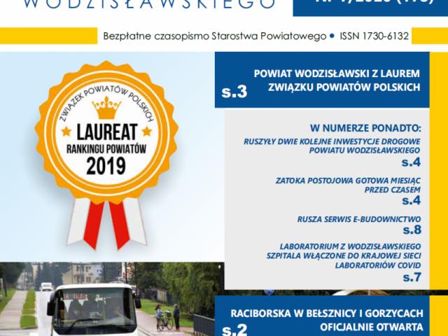 Wieści Powiatu Wodzisławskiego nr 7 z 2020 okładka