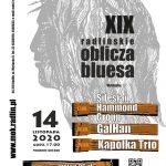 plakat - XIX Radlińskie oblicza bluesa