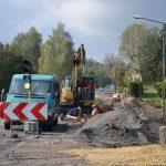 remont ul. Rydułtowska w Radlinie foto. dzięki uprzejmości Miasto Radlin