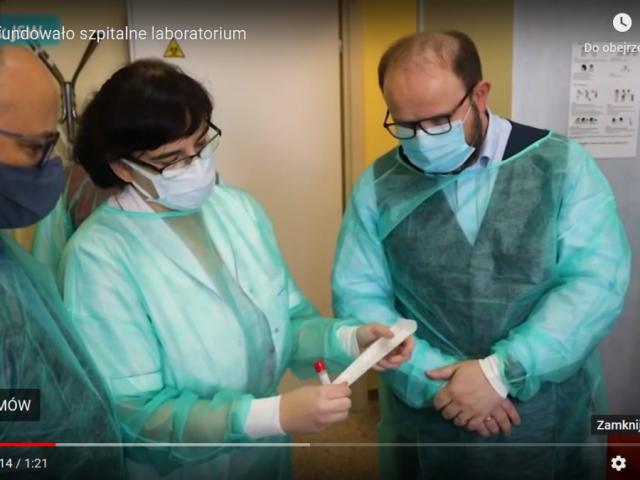 JSW dla szpitali powiatu czołówka